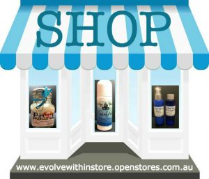 Evolve within essential oils and synergy cosmetics shop