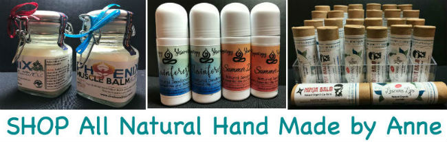 Natural PEssential Oil Products hand made by Naturopath Anne