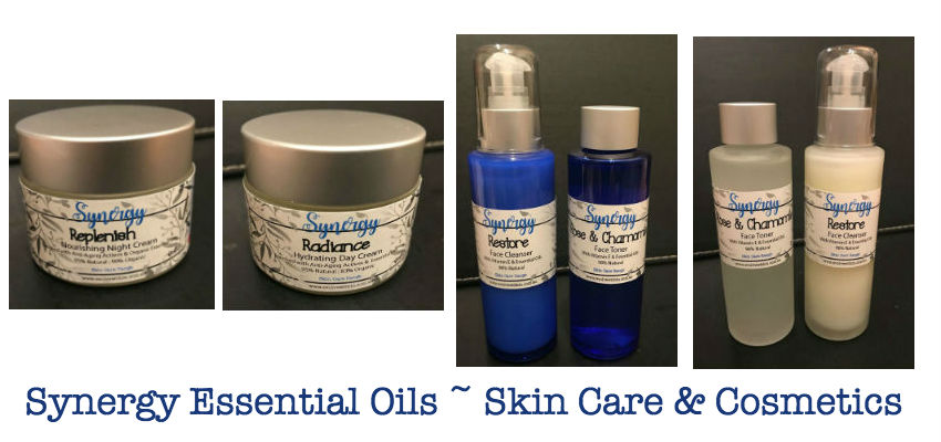 Synergy Essential Oils ~ Skin Care & Cosmetics